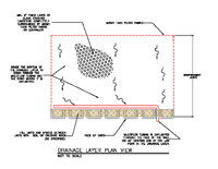 Drainage Layer Plan View